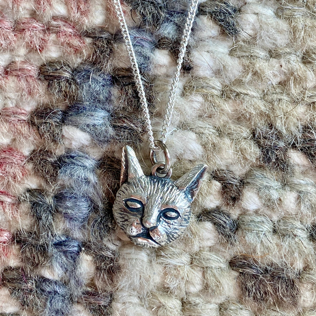 Kitty Cat Charm Necklace