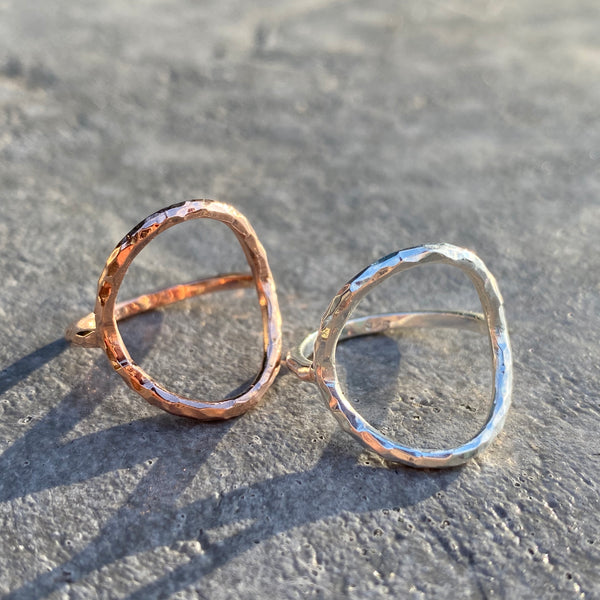 Circle Ring Rose Gold