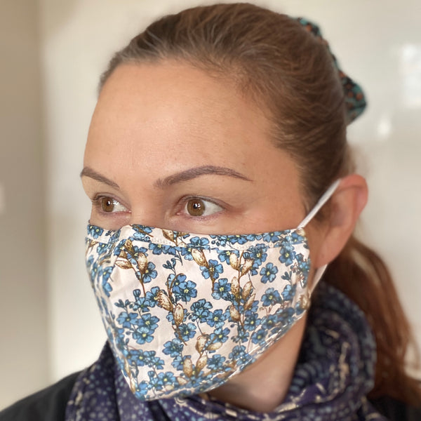 Forget me not Breathable Mask - 2 pack