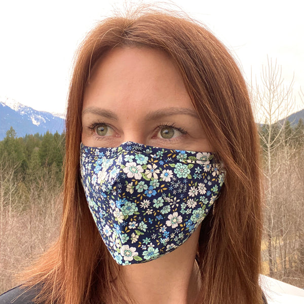 Alpine Flowers Breathable Mask - 2 pack