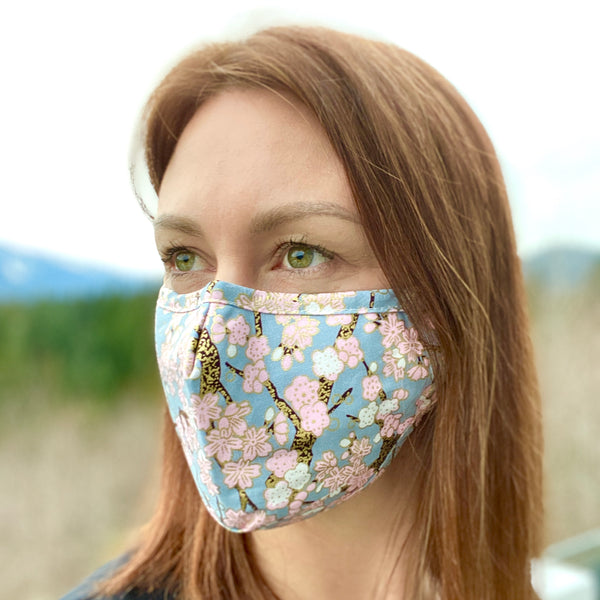 Cherry blossom  Breathable Mask - 2 pack