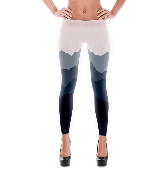 ombre mountain leggings
