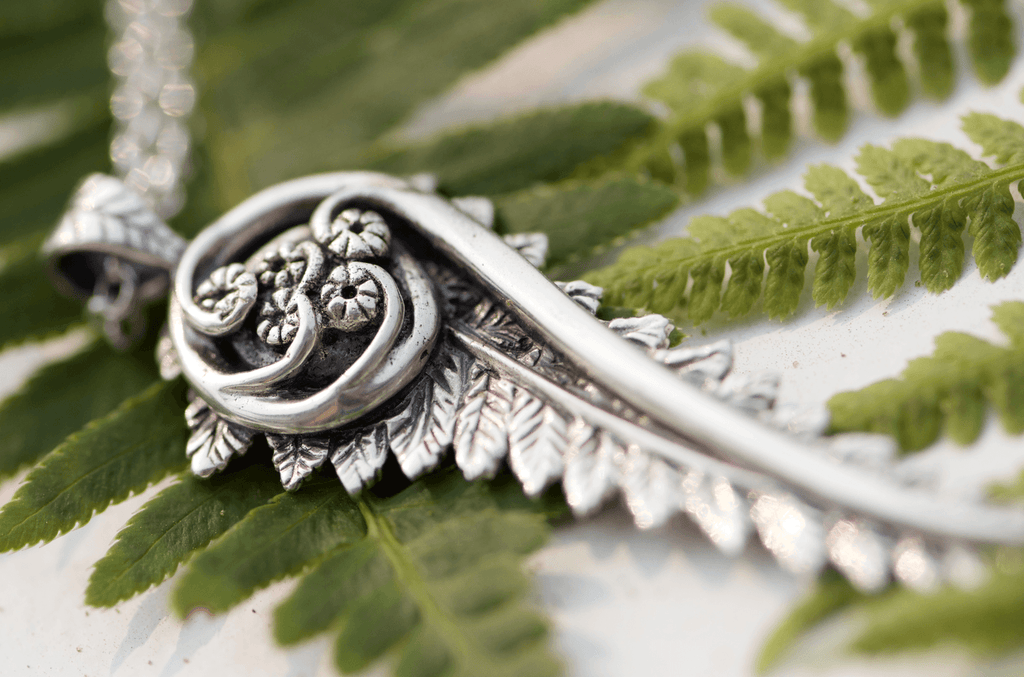 Fiddlehead Fern Pendant