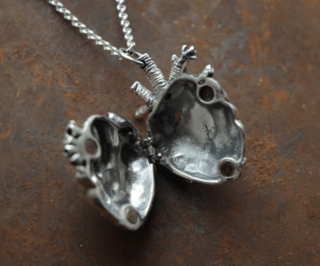 Mini Anatomical Heart Locket