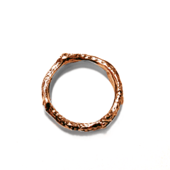 Twig Stacking Ring Bronze
