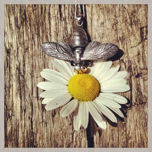 Bee Pendant Silver