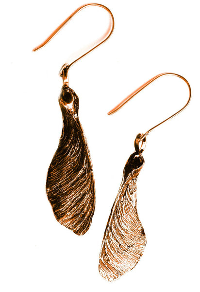 Sycamore Earrings Bronze