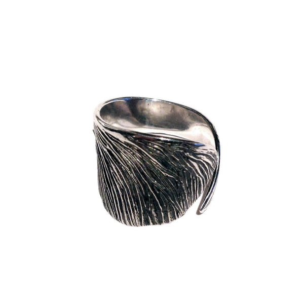 Sycamore Ring Silver