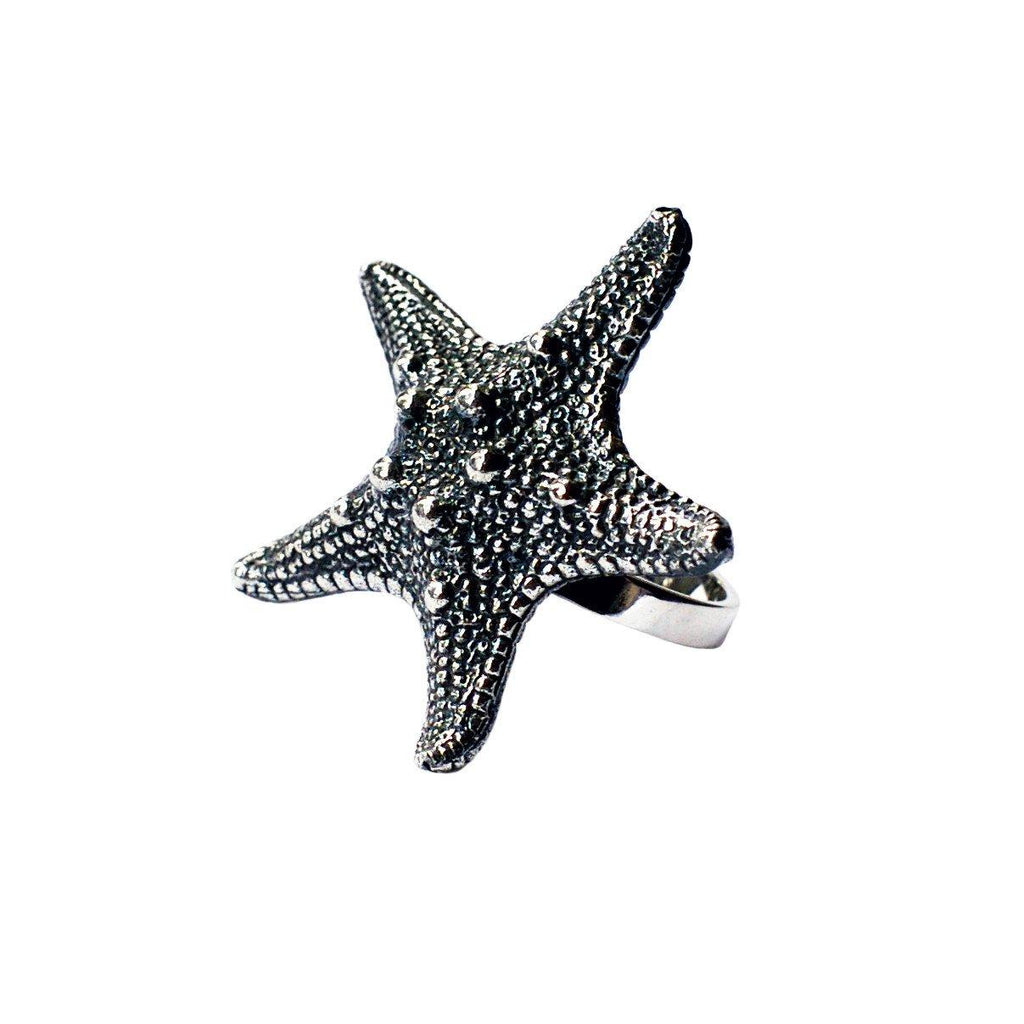 Starfish Ring Silver