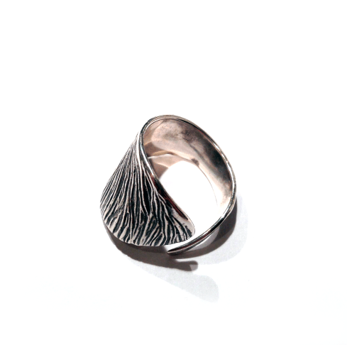 Sycamore Ring Silver Back