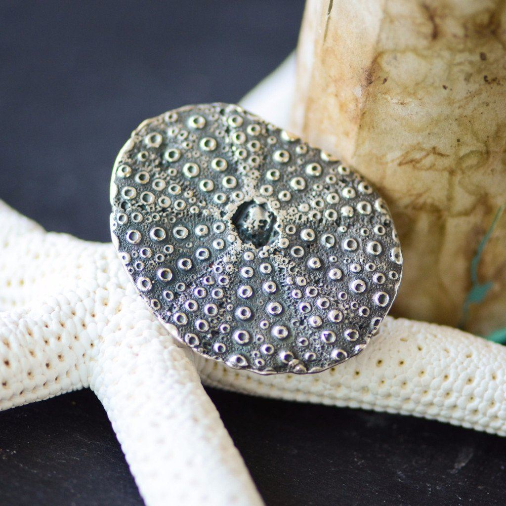 Sea Urchin Ring Silver