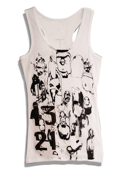Surveillance Tank Top White