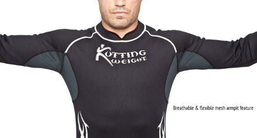 Men's Neoprene Sauna Suit Shirt Breathable Armpits