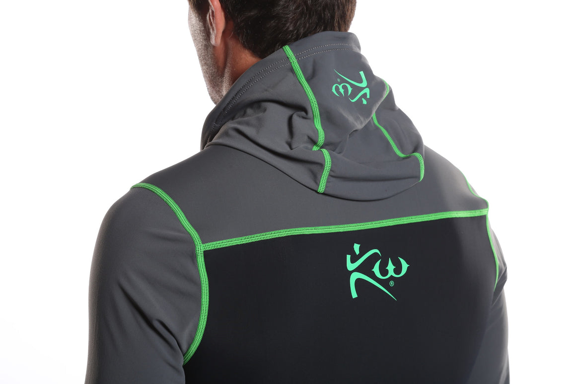 Men's Neoprene Sauna Sweat Suit Hoodie