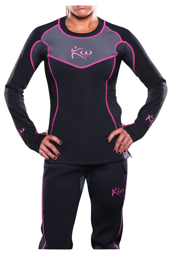 Women's Neoprene Sauna Shirt