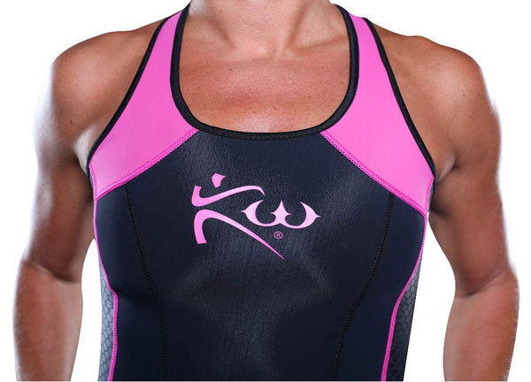 Women's Neoprene Sauna Tank Top Front