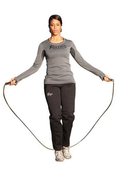 Women's Sauna Shirt Sauna Pants Jump Rope