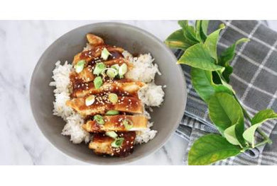 Teriyaki chicken bowl
