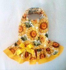 Bright Golden Sunflower Dress