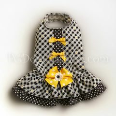 Yellow Bows Dress