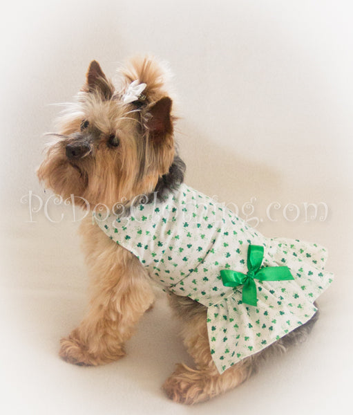 Mini Shamrocks Dress