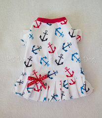 Anchors T-Shirt Dress