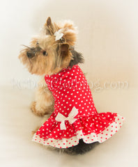 Red and White Hearts Dress (Clearance)