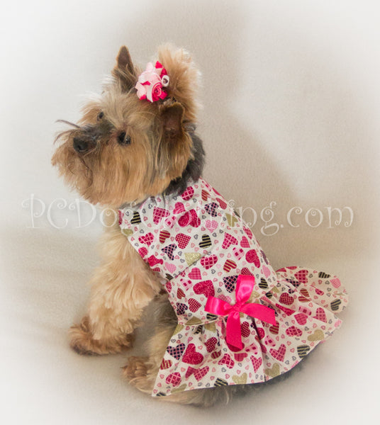 Pretty Hearts Valentine's Day Dress (Clearance)
