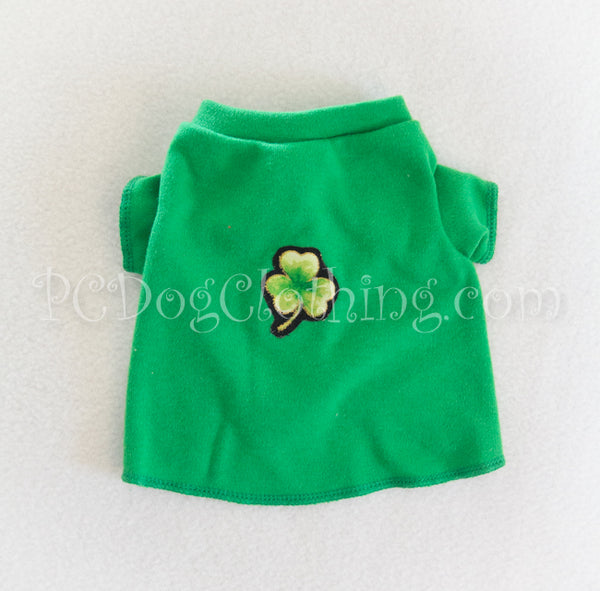 Bright Green Clover T Shirt