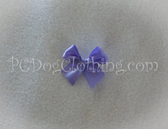 Medium Purple Satin Hair Bow