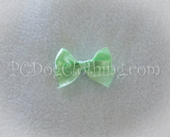 Mint / Celery Green Satin Hair Bow