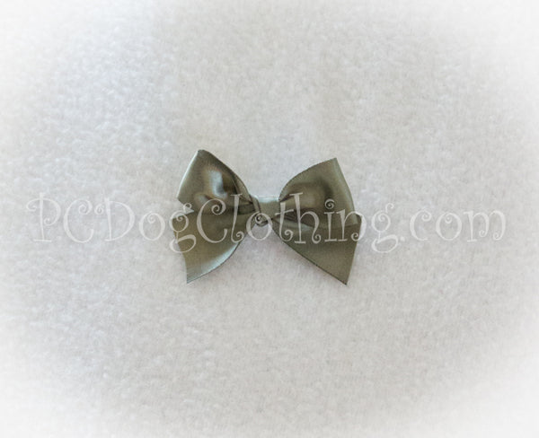 Sage Green Satin Hair Bow