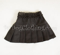 Black Twill Skirt