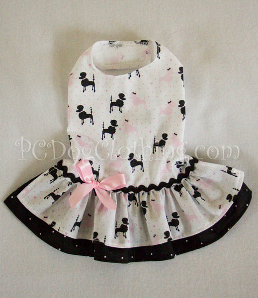 Poodle Print Dress
