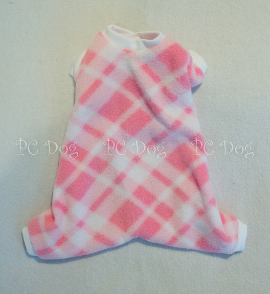 Pink Plaid Pajamas (Clearance)