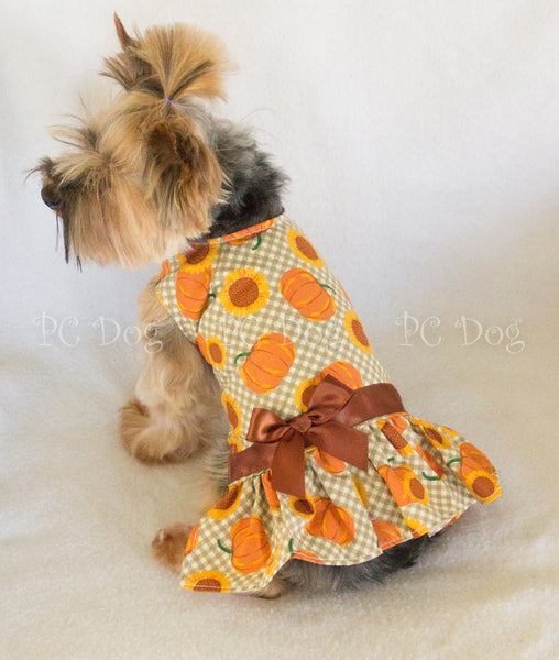 Sunflowers and Pumpkins Dress (Almost Gone)