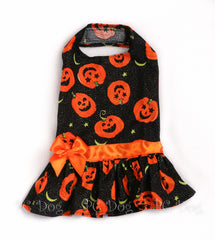 Sparkly Pumpkin Dress (Clearance)