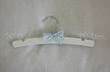 "10"" Wooden Hanger ~ Pink or Blue"