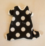 Black and White Dot Pajamas (Clearance)