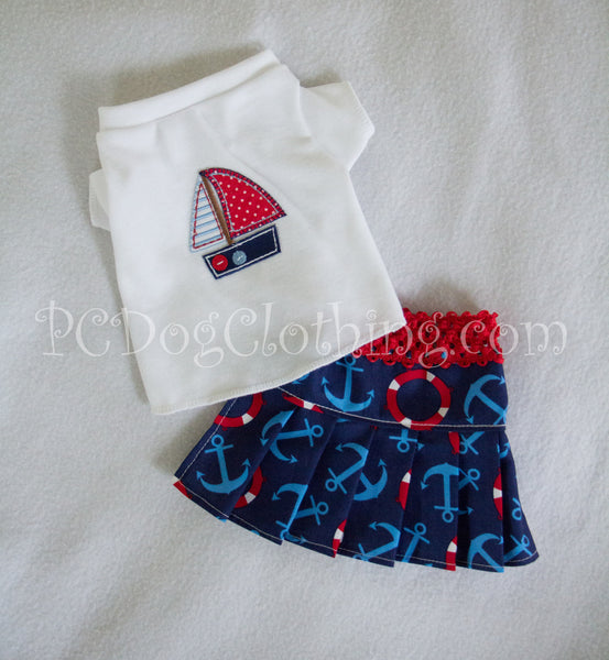 Anchors Skirt