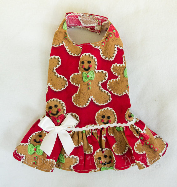 Gingerbread Cookies Dress (Clearance)