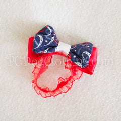 Patriotic Bow Tie / Head Band