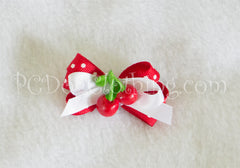 Cherries Hair Bow