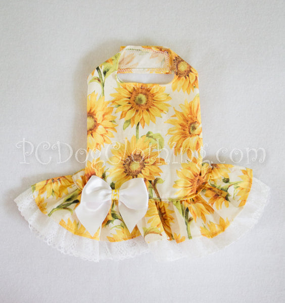 Sunflower Party Dress