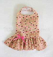 Corduroy Floral Dress (Clearance)
