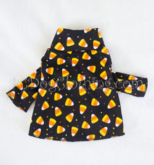 Candy Corn Mock Turtleneck