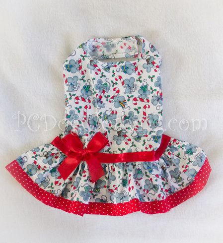 Christmas Mice Dress (Limited sizing available)
