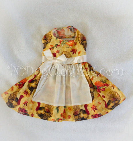 Turkey Apron Dress