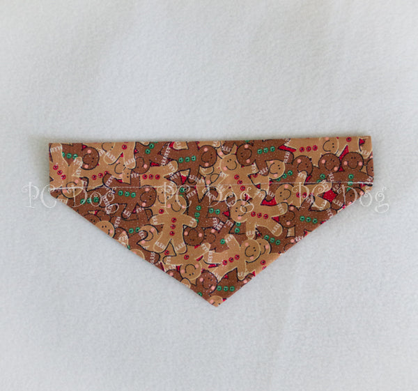 Gingerbread Christmas Bandana