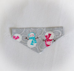 Winter Snowman Christmas Bandana